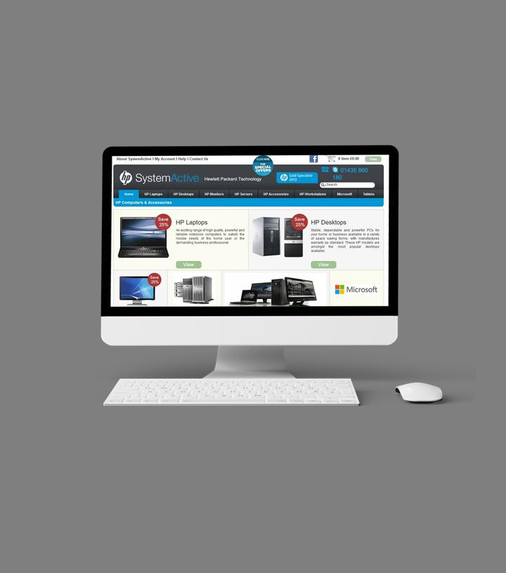 Portfolio: HP System Active
