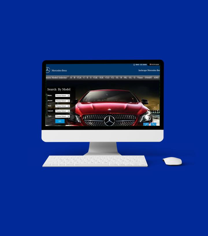 Portfolio: Inchcape Mercedes Benz of Oxford
