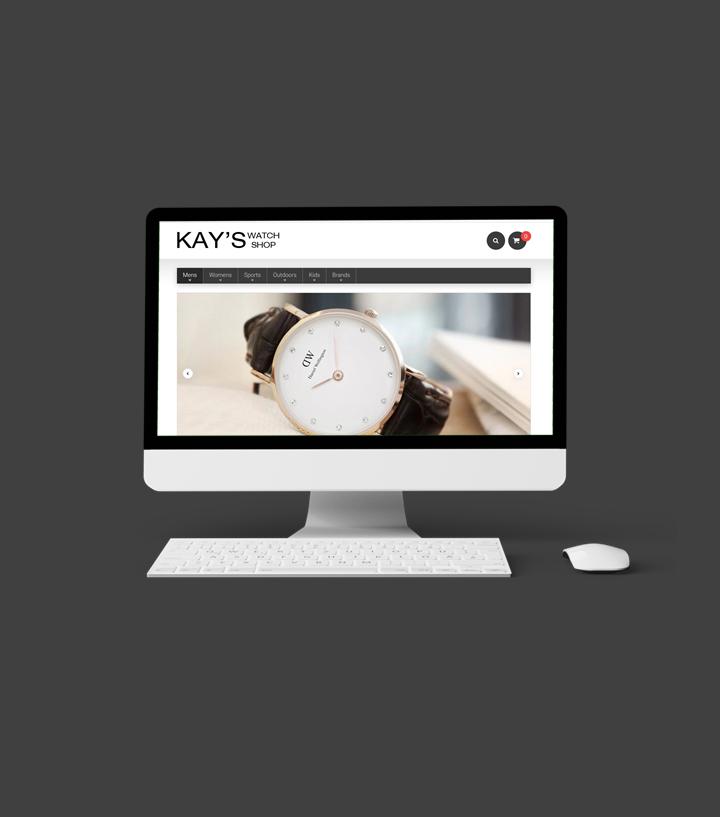 Portfolio: Kay's Watch Shop